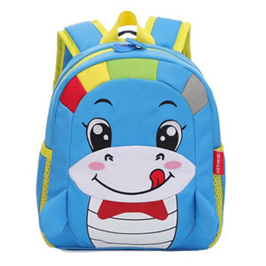 oxford fabric Cartoon hippocampus shape kid bags