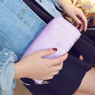 2020 fashion designer PU wallet