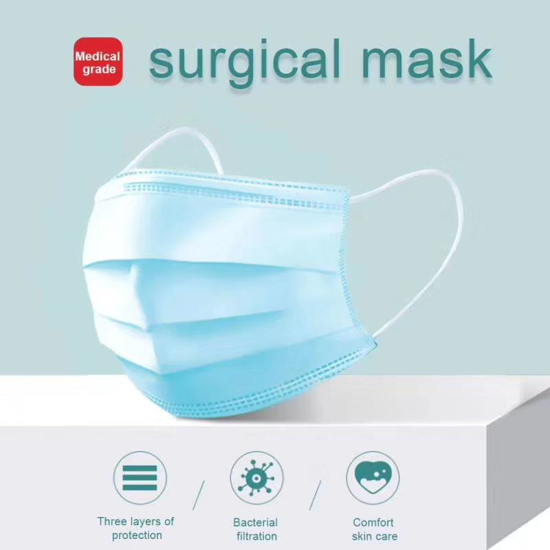 there layers disposable medical mask