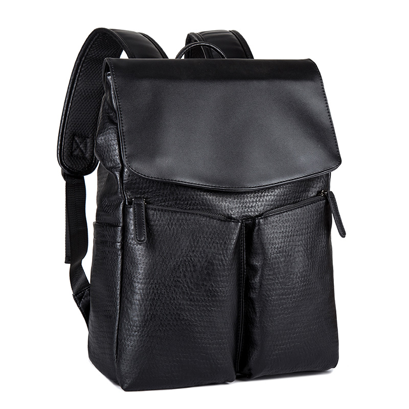 PU leather bags business backpacks Day back pack